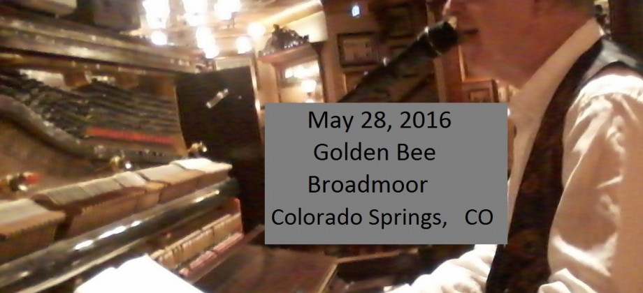 Golden Bee, Broadmoor Hotel Colorado Springs
